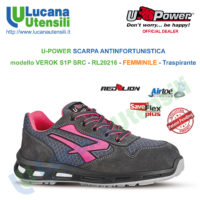 U POWER SCARPA ANTINFORTUNISTICA modello CANDY S3 CI SRC ESD