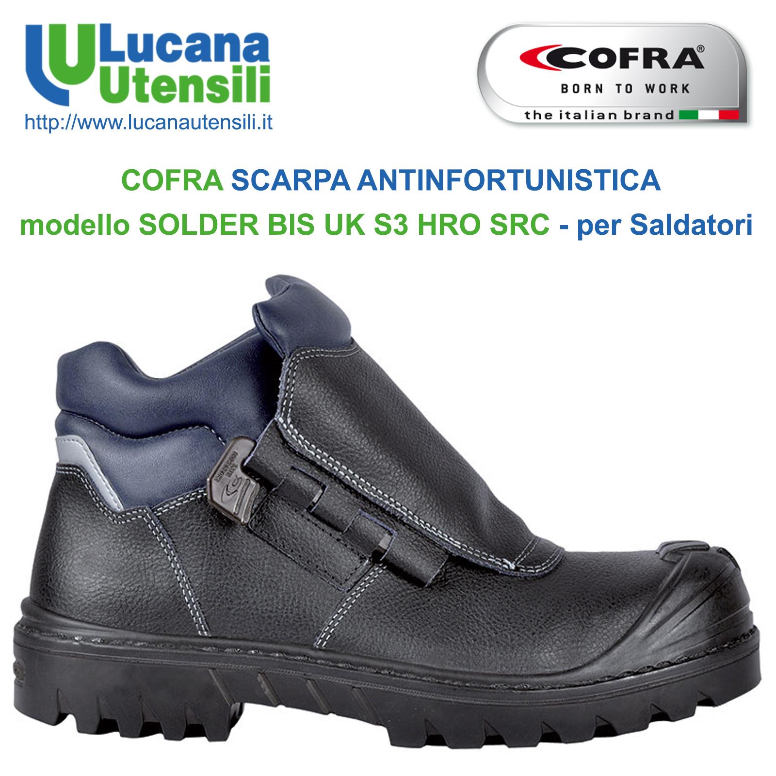 Dettagli su Scarpe antinfortunistiche Cofra Moon S1P SRC Scarpe da lavoro