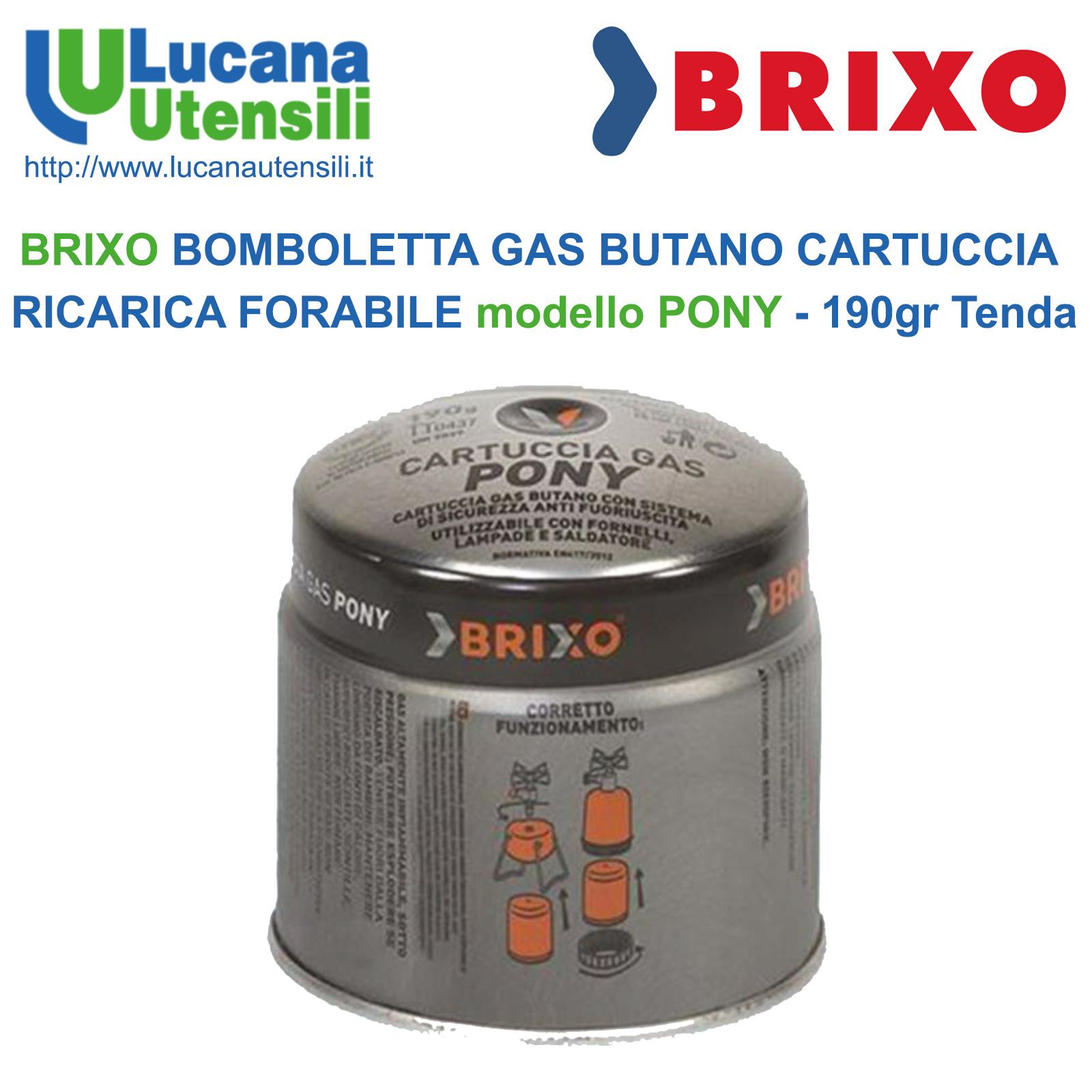 CARTUCCE BOMBOLA GAS PER FORNELLI A VALIGETTA 220 GR