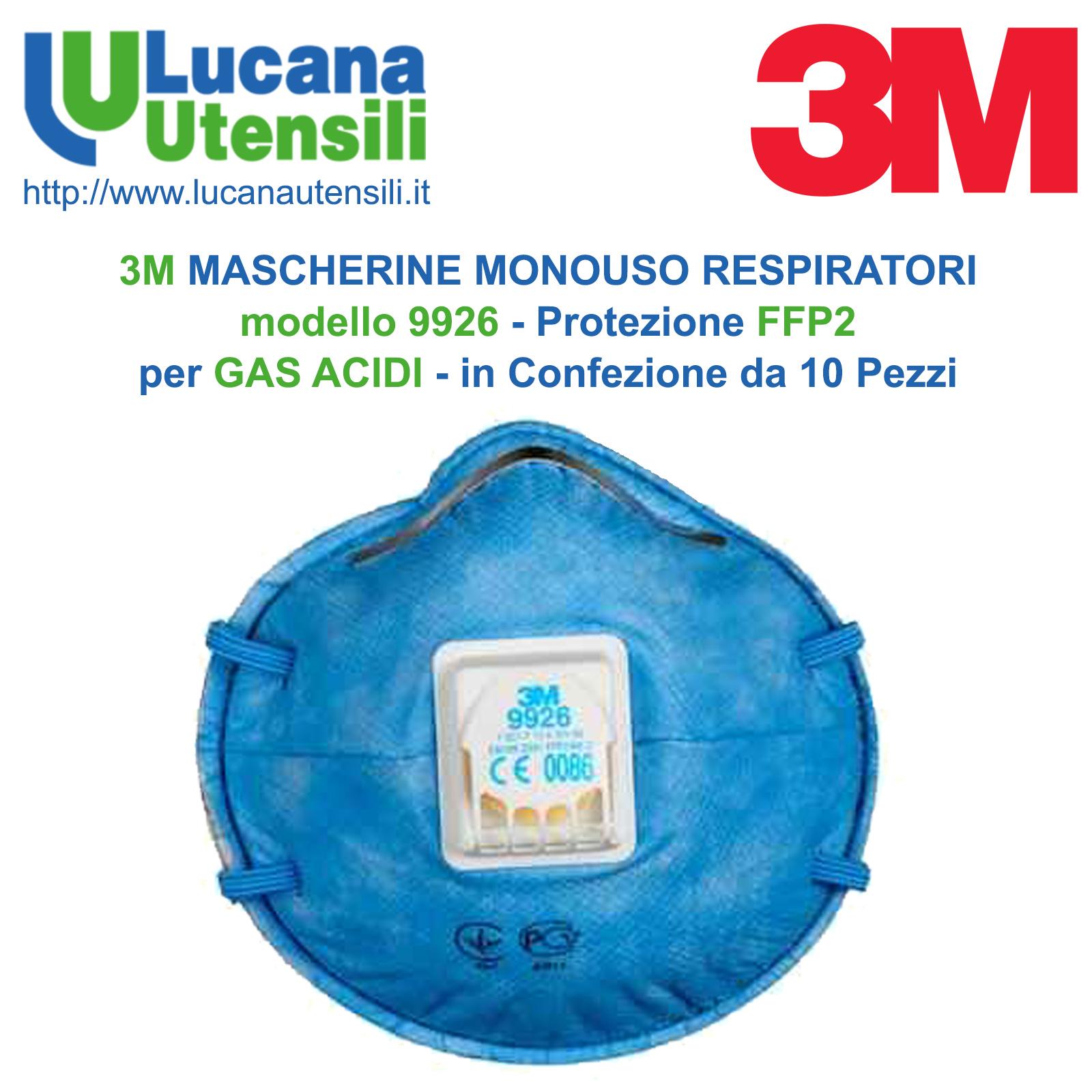 mascherina 3m ffp2 con valvola