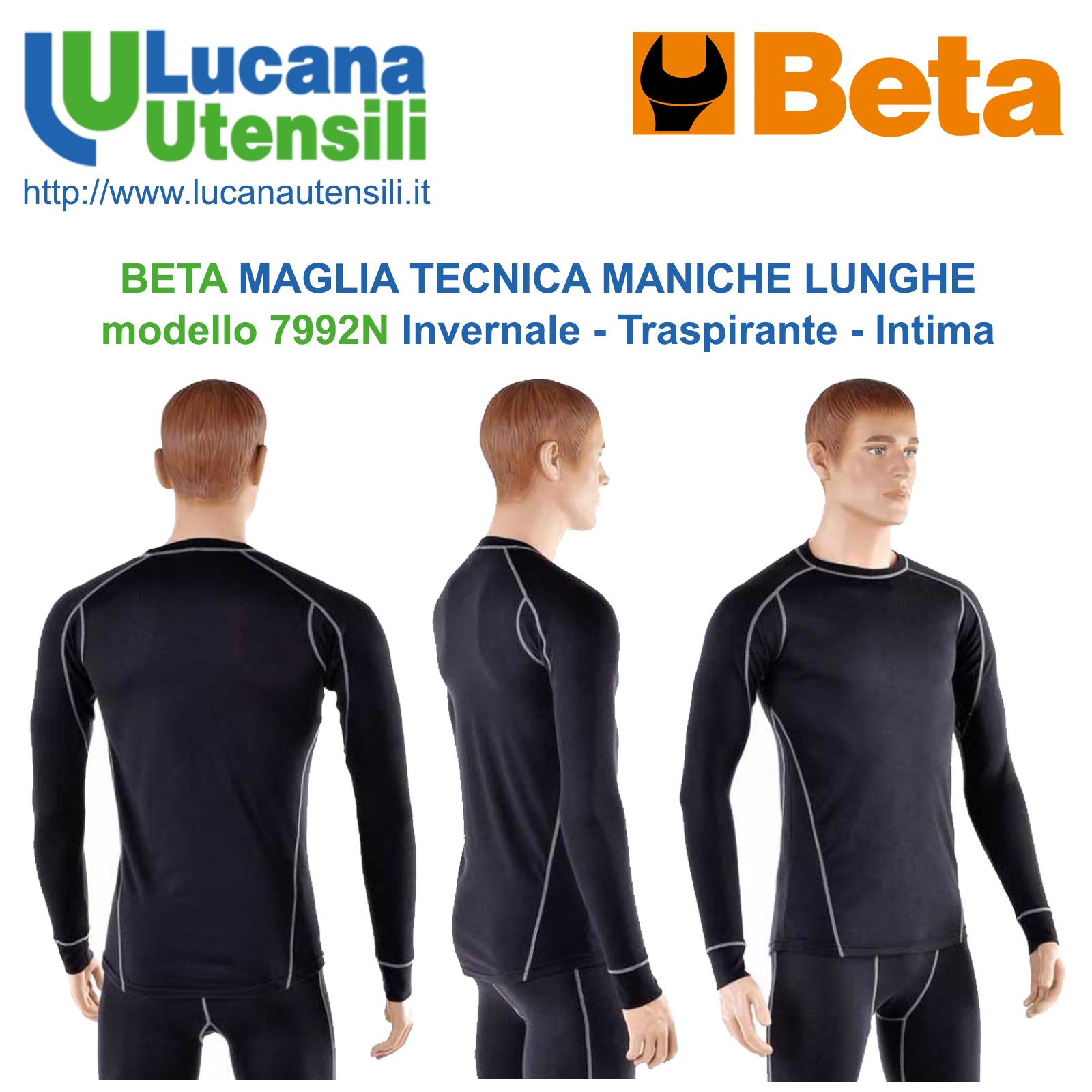 Lunghe Modello Invernale Beta Maniche Tecnica Maglia 7992n wqq4SU