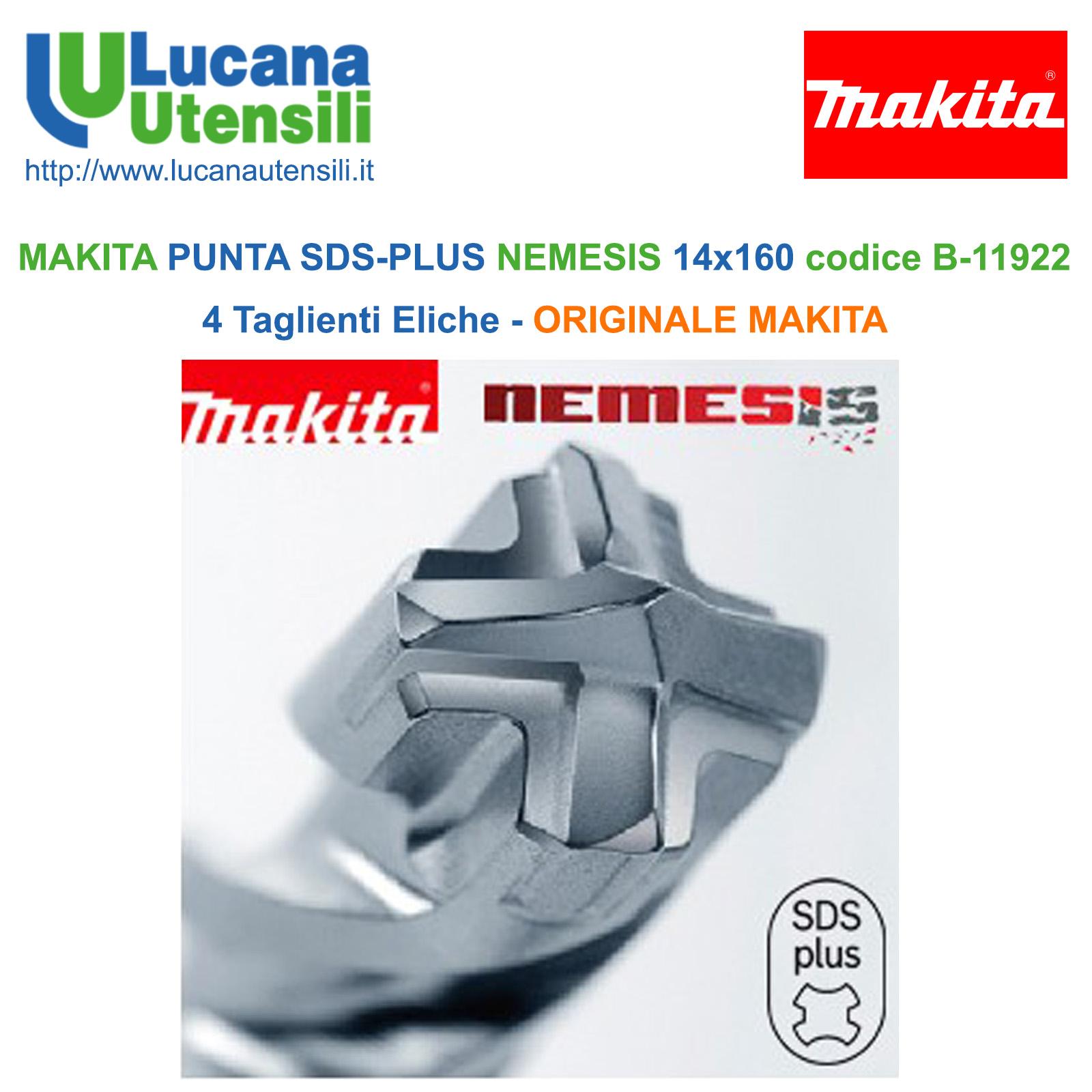 Punta SDS Makita B-58322 12 mm x 160 mm