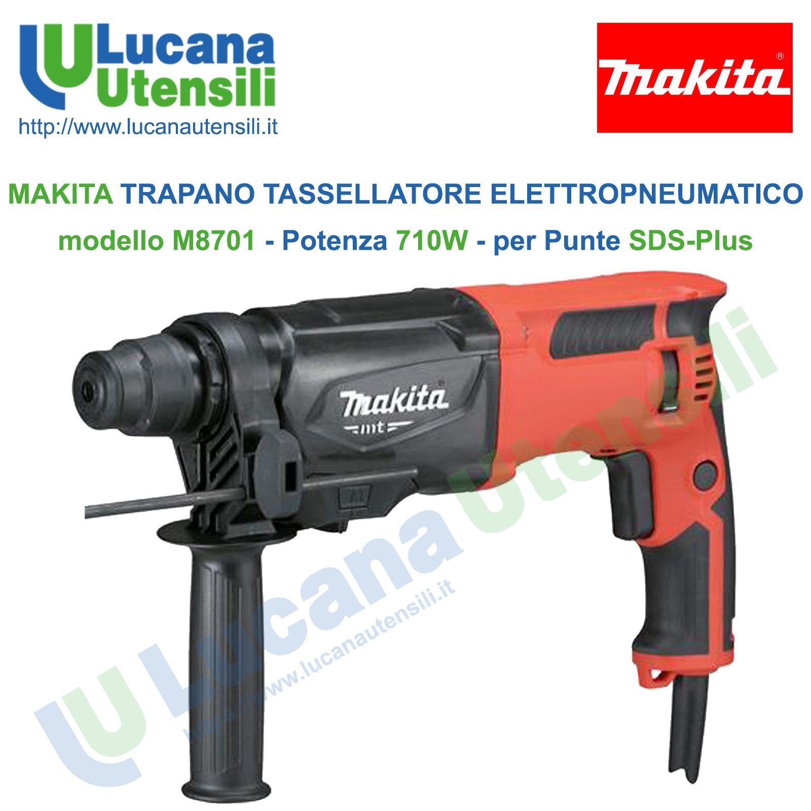 Makita HR2470 trapano professionale a Martello rotativo