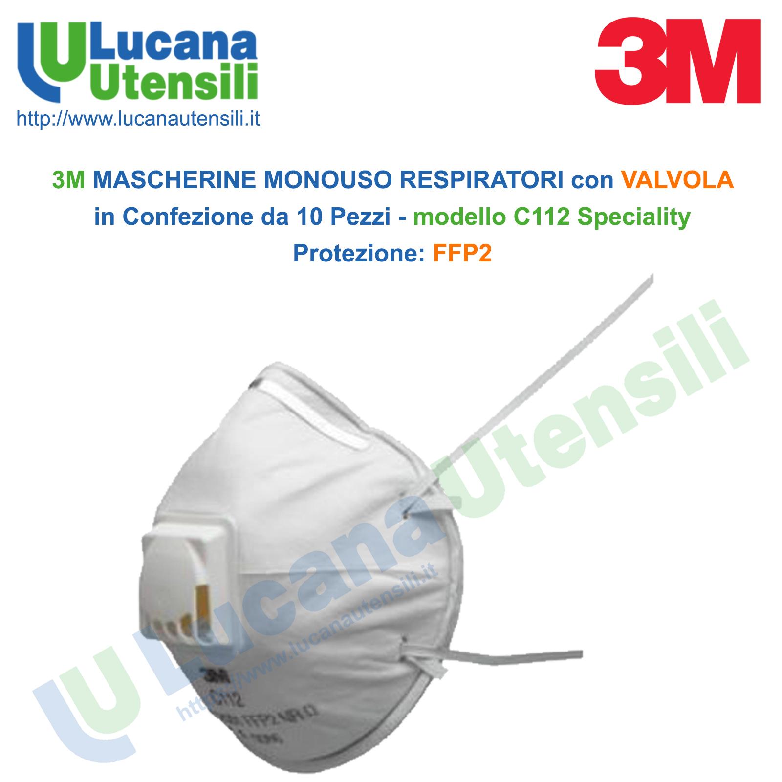 mascherina 3m p2