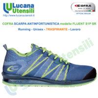 Scarpe antinfortunistiche basse da lavoro COSMOS S1 P SRC COFRA