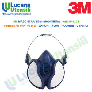 maschera polveri sottili 3m