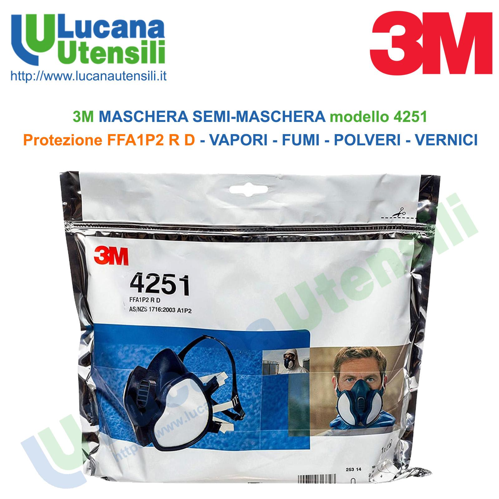 maschera respiratore 4251 3m