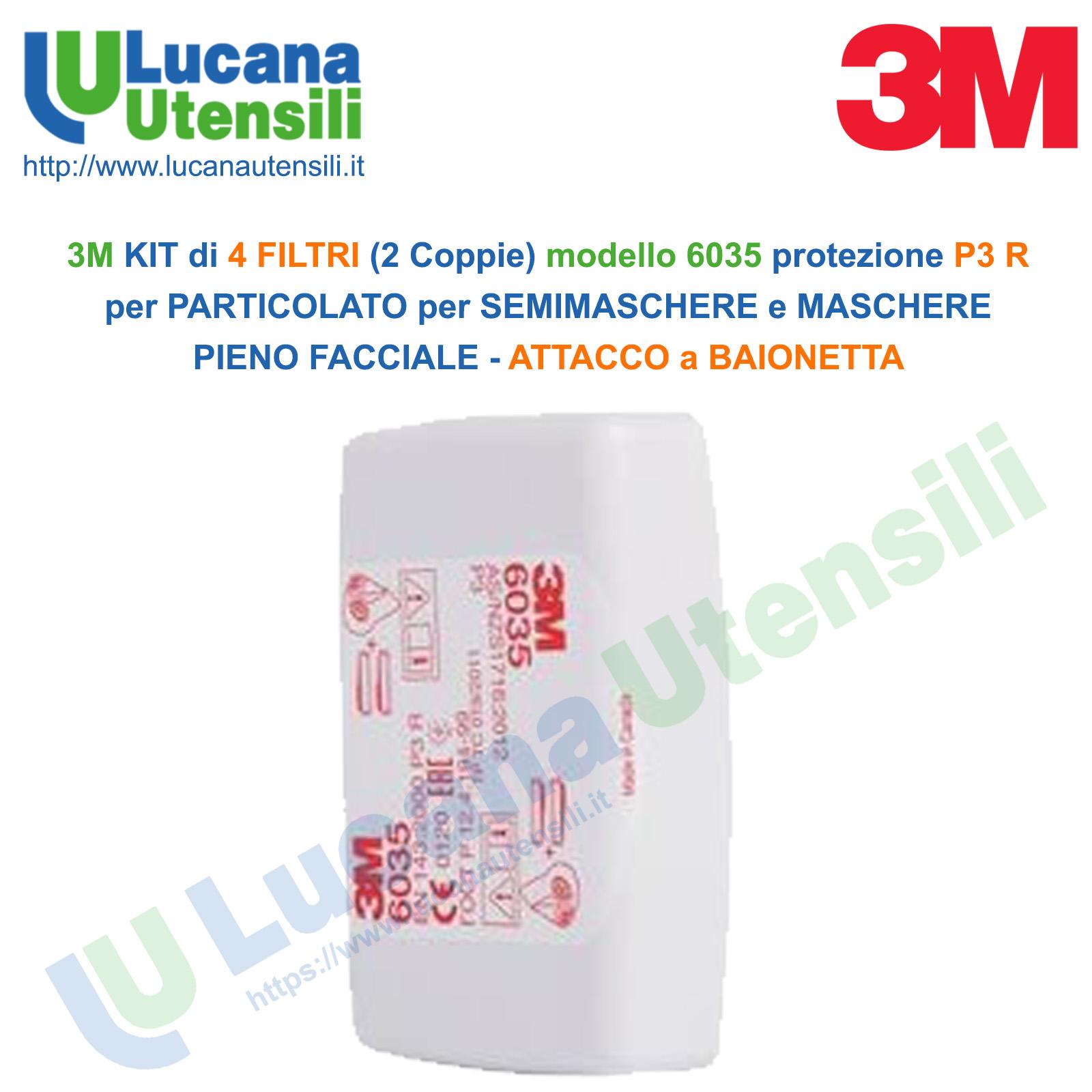 maschera 3m 6035